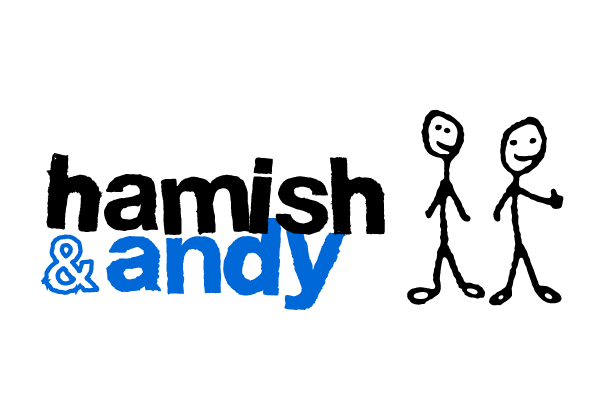 Rock Agency - Hamish & Andy Branding
