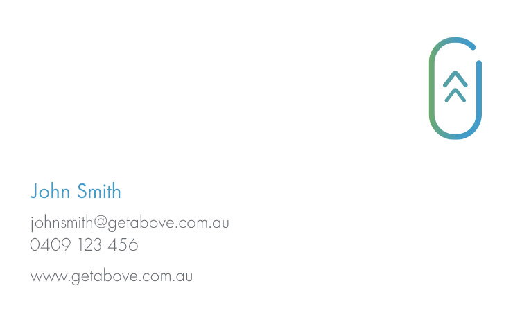 Get Above - Collateral - Business Card