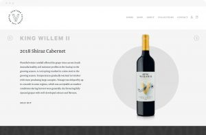 Rock Agency Vandenberg Wines Desktop Design