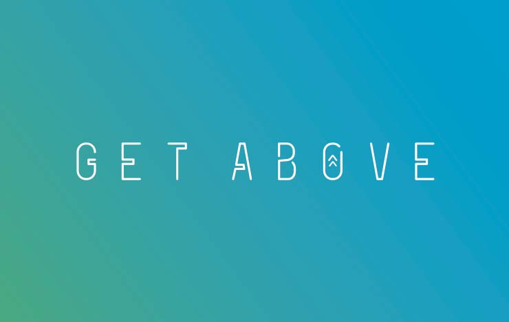 Rock Agency - Get Above - Business Card