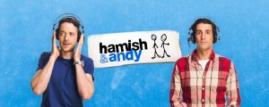 Rock Agency - Hamish & Andy Project Hero