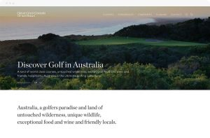 Rock Agency - Great Golf Course Australia Project Desktop