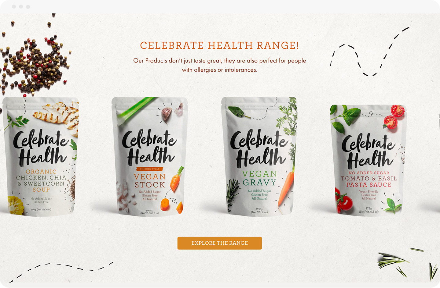 Rock Agency - Celebrate Health - Desktop