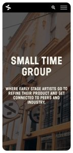RockAgency-Project-SmallTimeGroup-Mobile-About