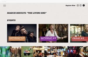 Rock Agency - Projects - Coopers Live Loud & Local - Search Results