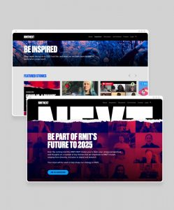 Rock Agency - Services - Web Design & Development - RMIT
